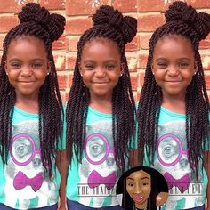 STYLIST FEATURE  How cute are these #ropetwists on this little beauty, styled by #HoustonBraider @_iamshonda She is too cute #VoiceOfHair