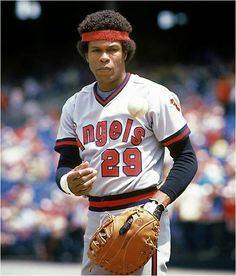 Rod Carew- California Angels