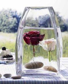 Wunderschöne Tischdeko für eine Hochzeit