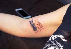 Noticia: ✨  Tatuarte a tu gatito, o cómo luchar contra las leyes surcoreanas de forma adorable . Tatuarte a tu gato, una adorable de forma para luchar contra las leyes que prohíben los tatuajes en Corea del Sur. Por alguna extraña raz&o...