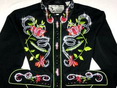VINTAGE PANHANDLE SLIM CLASSIC! HOT COLORS! BLING GALORE!