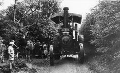 Thrasher Steam Traction Engine, Skelton Lane, Beighton