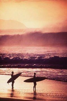 Surfer, beach,