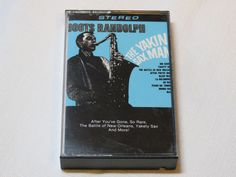 Boots Randolph The Yakin Sax Man RCA Special Products CAK-825 1985 Cassette Tape