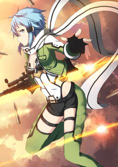 Sword Art Online, Shinon, by vblue
