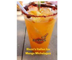 Taste of LA County Fair's Food! Opens Friday, 9/4! Ricco's Italian Ice Mango Michelagua