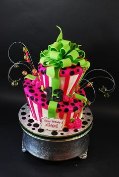 topsy turvy cakes for 13 year olds | Whimsical Topsy Turvy Birthday Cake — Whimsical / Topsy-Turvy Cakes