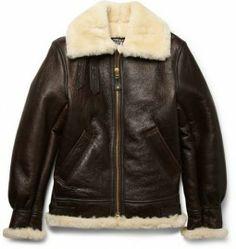 9bd71d5864c Schott B-3 Sheepskin Bomber Jacket Winter Leather Jackets