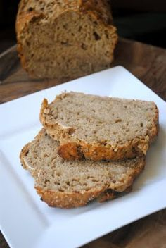 Caramelized onion and beer bread. Would be yummy with stew or chilli