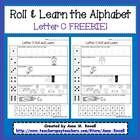 Letter+C+FREEBIE!!  A+fun+new+take+on+the+roll+&+read.+2+versions+are+included.+  Version+1+uses+alphabet+readers,+and+version+2+puts+an+exerci...