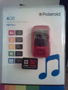 Enter to win a Polaroid 4GB Music and Video Player!