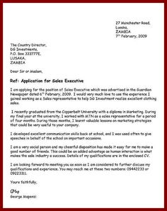 What Is A Cover Letter For A Job Allan Phiri Phiriallan64 On Pinterest