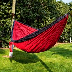 Furniture Hammocks Strict 300*200cm 2 People Hammock Ultralight Camping Survival Garden Hunting Leisure Travel Double Person Portable Parachute Hammocks 2019 Official