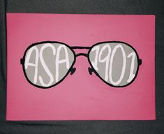 asa sunglasses alpha sigma alpha sorority craft fa124cfcb282