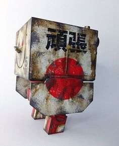3A ThreeA WWR JDF Mighty Square Ashley Wood Japan Exclusive | eBay