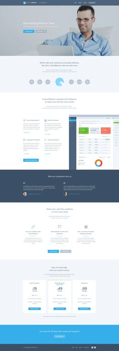 Invoice Sherpa Homepage Redesign by Balkan Brothers