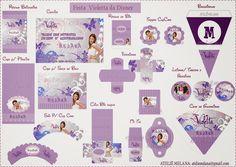 Ateliê Melana: Festa da Violetta da Disney