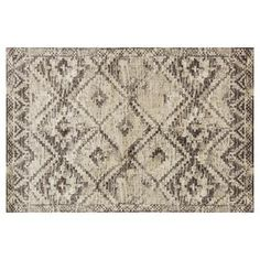 B262 Brown and Ivory Calypso Rug- 7x10 ft