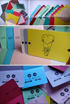 DIY Printed Wedding Cards