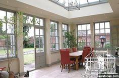 orangery dining room - Google Search
