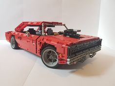 Awesome Lego, Cool Lego, Best Rc Cars, 1968 Dodge Charger, Lego Builder, Lego Vehicles, Lego Worlds, Lego Moc, Lego Technic