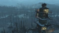 Murkwater Watchtower Screenshots #Fallout4 #gaming #Fallout #Bethesda #games #PS4share #PS4 #FO4