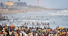 RK beach decked up for candlie-light rally in Vizag, Andhra DGP Sambasiva Rao denies permission to such protests as it may lead to law and order problems.