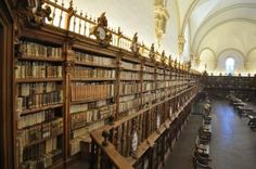 Salamanca University General Historical Library, Salamanca, Spain.