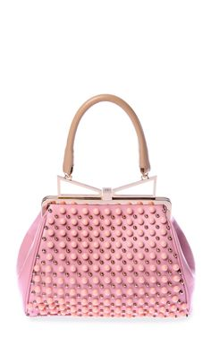 Lady Me Tote In Pink Pearl by Sara Battaglia