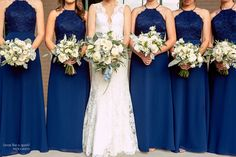 The Foundry at Puritan Mill Wedding :: Meagan + Brandon :: with Tyler Navy Bridesmaid Dresses, Wedding Bouquets, Wedding Dresses, Atlanta Wedding, Social Events, Formal Wedding, Wedding Photos, Wedding Ideas, Wedding Photography