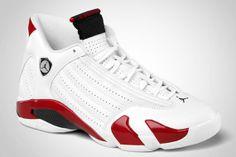 Air Jordan XIV White Red Black