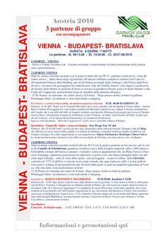 IN GRUPPO NON VIAGGI DA SOLO.... Vienna  -  Budapest- - Bratislava-001