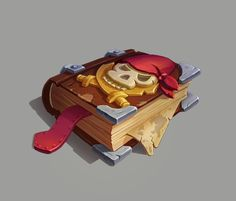 ArtStation - Pirate book, Andrey Maznev