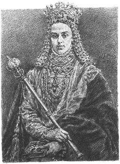 Anna Jagiellon - Jan Matejko