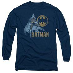 Batman - Knight Watch Long Sleeve Adult 18/1