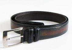 Paul Parkman Men's Leather Belt Hand-Painted Antique Brown https://www.multiforsales.com/en/belt/6647-paul-parkman-men-s-leather-belt-hand-painted-antique-brown.html