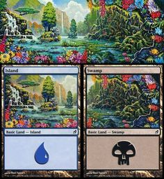 Polyptychs and Diptychs: Panoramic images on MtG card artwork | Magic: The Gathering | BoardGameGeek
