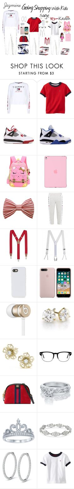 """""""Shopping Tommie Hilfiger Style"""" by dyanislays4life on Polyvore featuring Tommy Hilfiger, NIKE, Apple, Retrò, Club Room, Brooks Brothers, LMNT, Beats by Dr. Dre, Gucci and Disney"""
