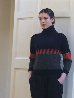 Irish Fashion, Fashion Designers, Turtle Neck, Sweaters, Ireland Fashion, Sweater, Stylists, Sweatshirts