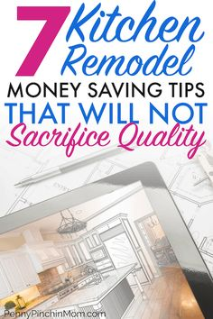 """""""Ways to Save Money"""" Planning a kitchen remodel? How you can save money remodeling your kitchen and still get everything you want! Don't plan your dream kitchen until you learn these expert tips on yo Kitchen On A Budget, Diy Kitchen, Kitchen Hacks, Kitchen Ideas, Cost To Remodel Kitchen, Kitchen Cabinets, Awesome Kitchen, Beautiful Kitchen, White Cabinets"""