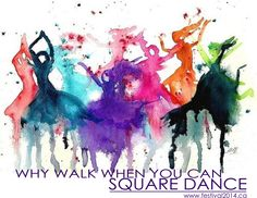 Why walk when you can Square Dance... (www.festival2014.ca)