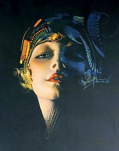 Rolf Armstrong April 21 1889 February 22 1960 was an American painter of pinup art Rolf armstrong Biography Rolf Armstrongs Gallery of Screen Beautie Rolf Armstrong, Art Nouveau Poster, Art Deco Print, Kunst Poster, Poster Art, Pinup Art, Art Girl, Vintage Art, Art Photography