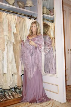 """Instead of just storing my things in the basement, I can make a street of shops and display them,"" Streisand says. See the images from the her home here and then see the profile on the diva and her decor as well as the Jennifer Aniston as Barbra cover story. Fashion Editor: Leslie Lessin."