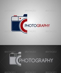 Photography  Logo Template #photography #color #vector • Download ➝ https://graphicriver.net/item/photography/6951335?ref=pxcr
