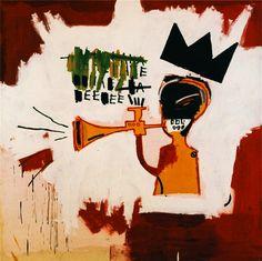 Jean-Michel Basquiat - Trumpet