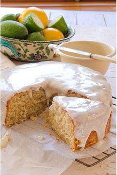 Coconut Feijoa Cake From Shirley