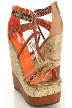 Get a little wild with these wedges! $31.99