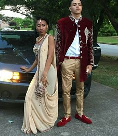 Lost for Prom inspiration? From picking out the poses for the pictures, selecting the perfect location for the shoot, and finding a bomb car to roll up in there Indian Prom Dresses, Homecoming Dresses, Prom Tux, Selfies, Prom Goals, Prom Couples, Prom Photos, Prom Outfits, Prom Night