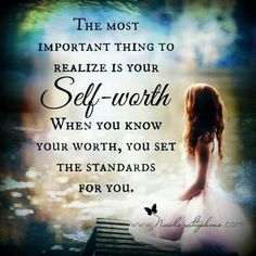 Realize Your Self Worth
