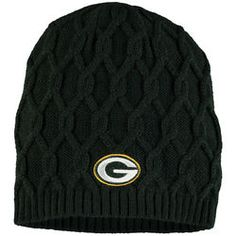 f5b197e82e9 New Era Green Bay Packers Women s Green Slouch Pick Knit Beanie